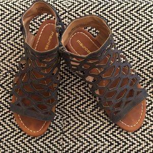 Maurice's gladiator sandals